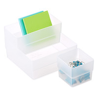 Clear Stackable Organizers