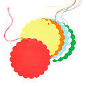 Scallop Brights Gift Tags