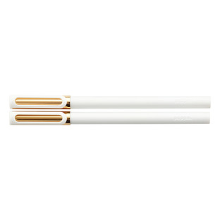 White & Gold Poppin Tip-Top Rollerball Pens