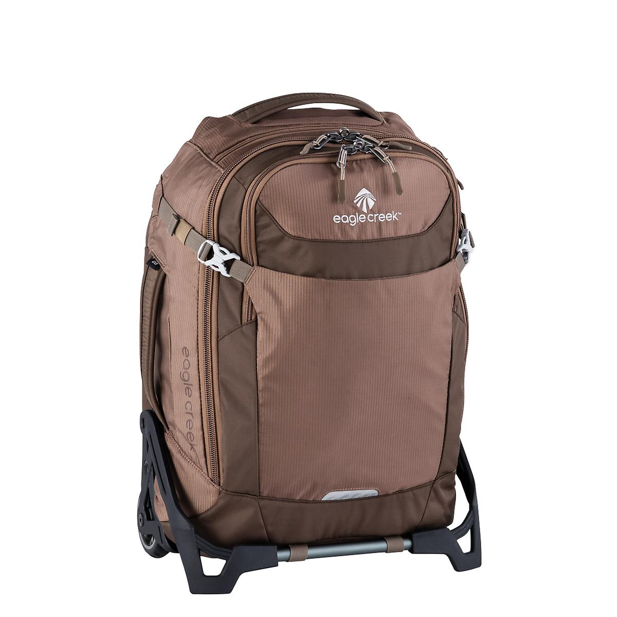 eagle creek This extremely versatile carry-on has zip away backpack straps and a padded hip belt for when you need to go hands free, but still have the optio.