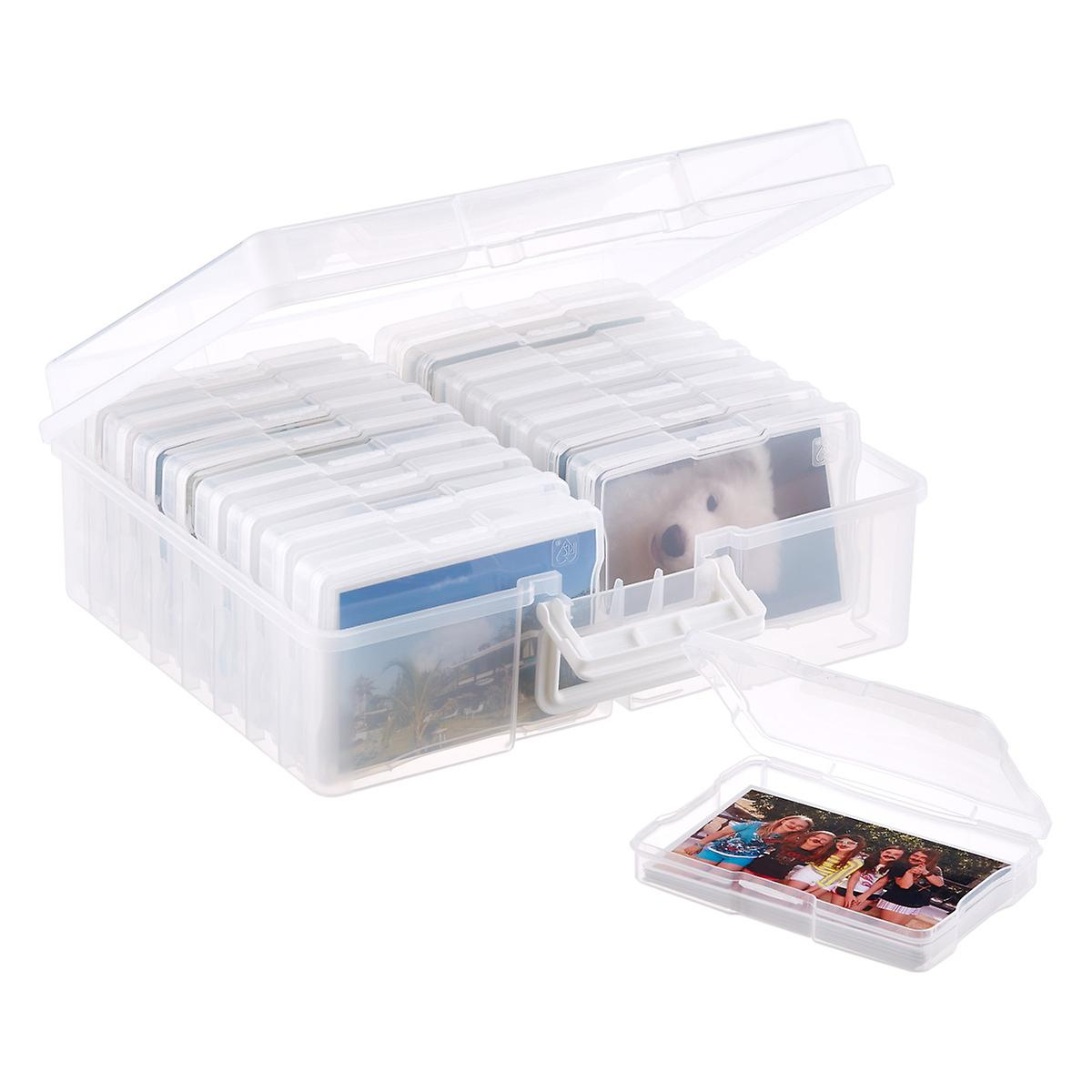 "Iris 16-Case 4"" x 6"" Photo & Craft Storage Carrier"