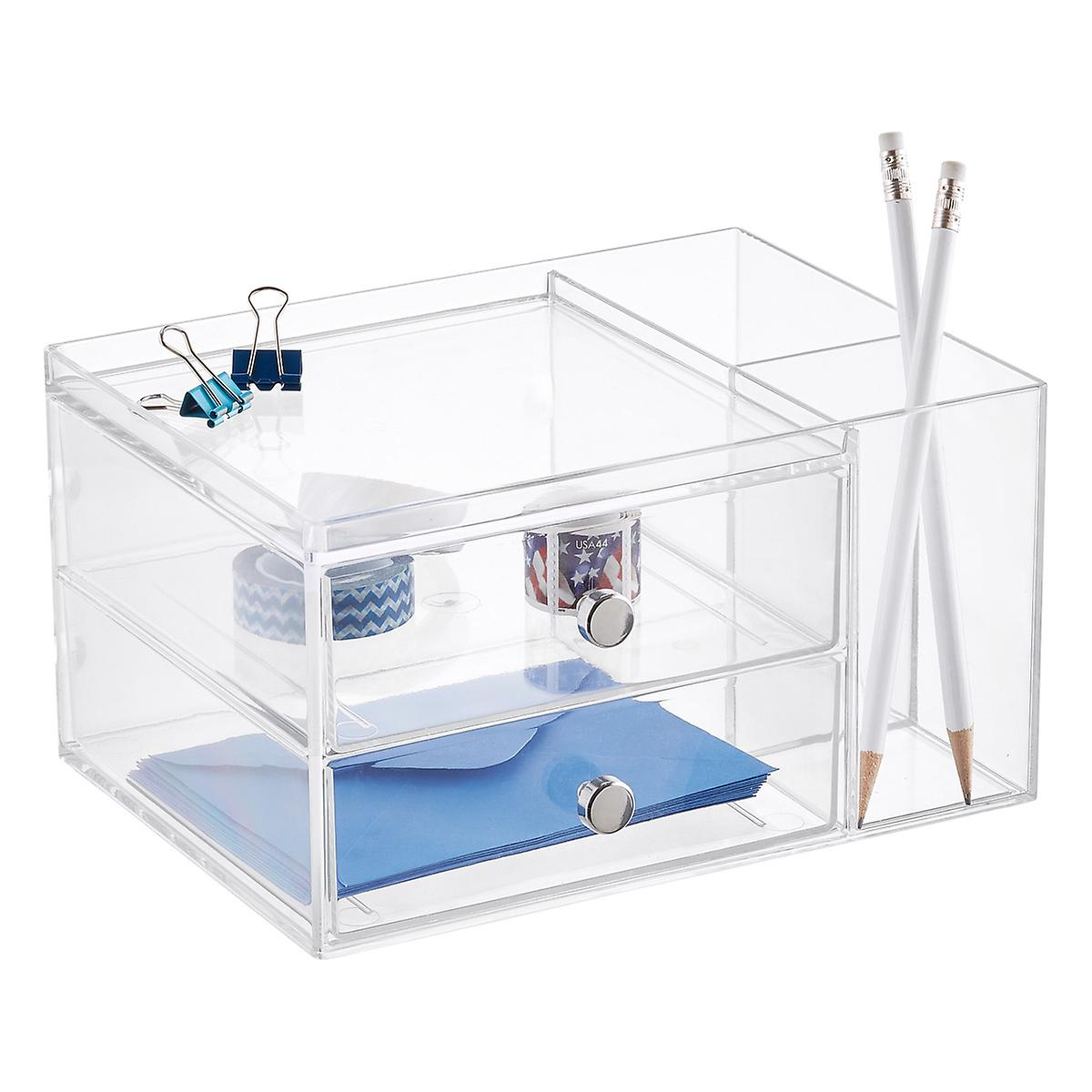 2 Drawer Desk Organizer The Container Store