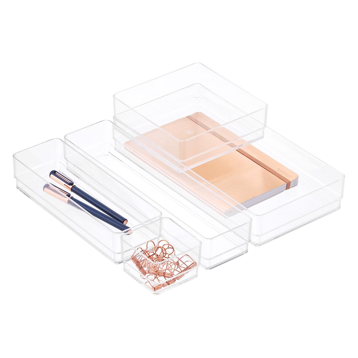 Acrylic Office Drawer Organizers