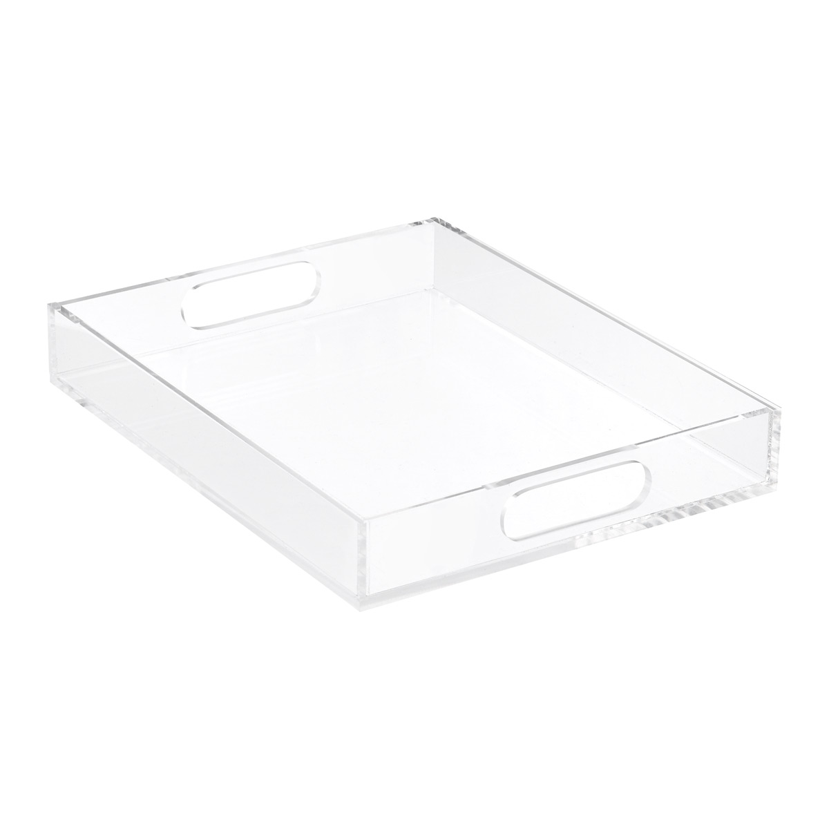 Large Premium Acrylic Paper Tray
