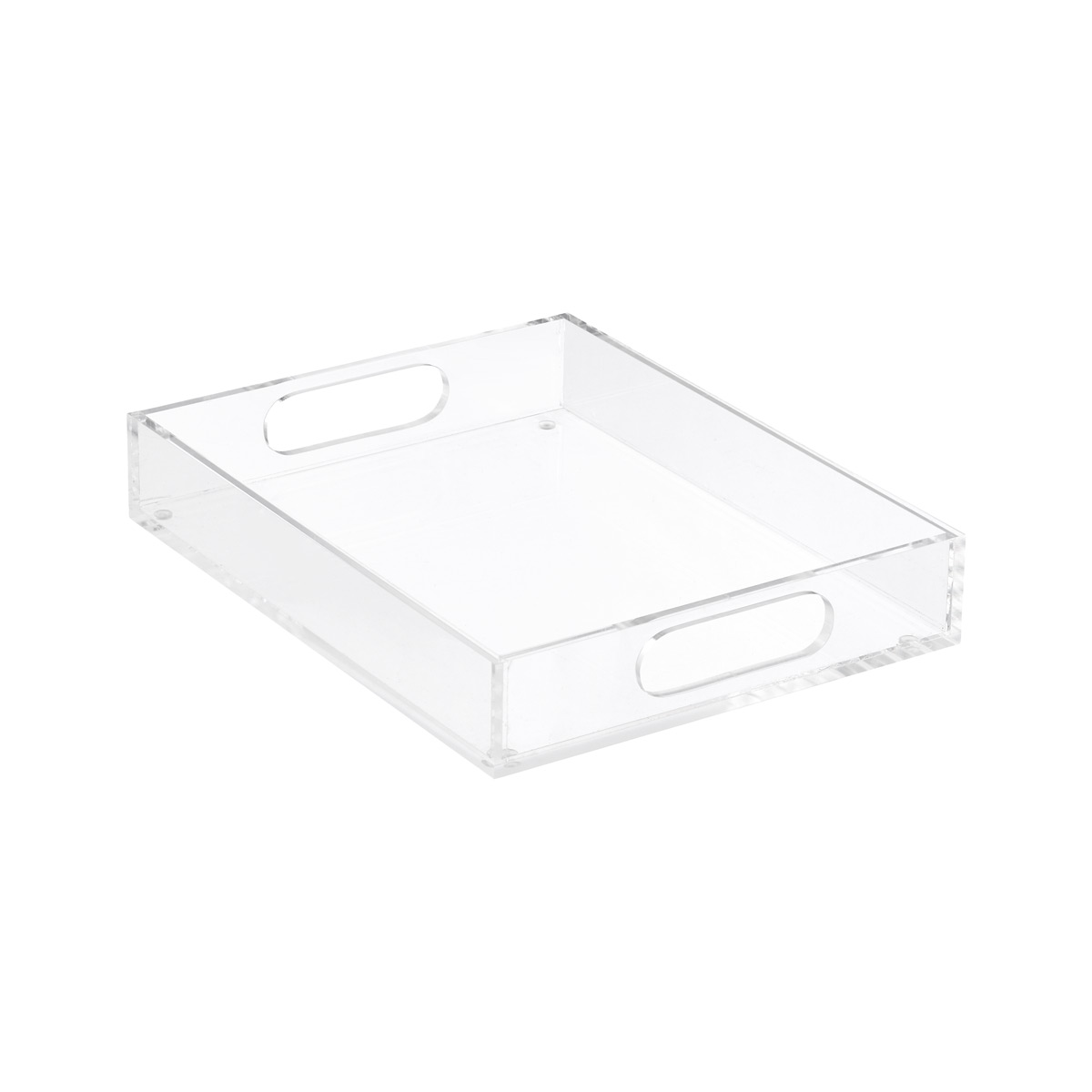Small Premium Acrylic Paper Tray