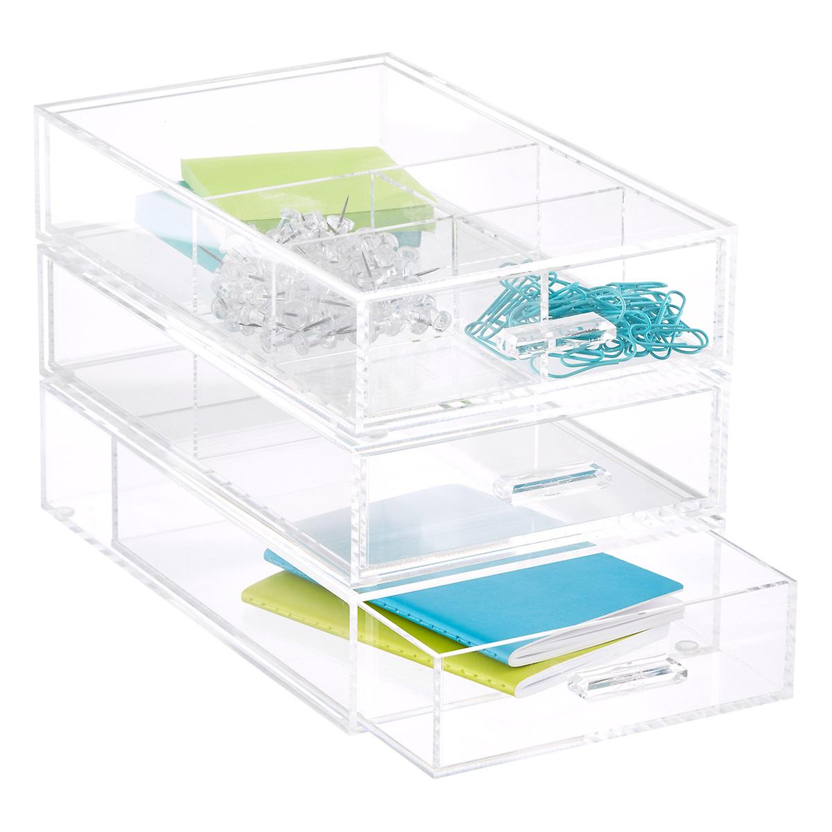 Acrylic Accessory Drawers The Container Store