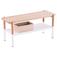Umbra White Promenade Entryway Bench