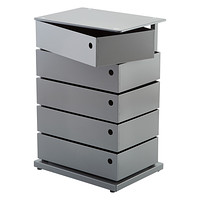 Anthracite 5-Bin Storage Tower