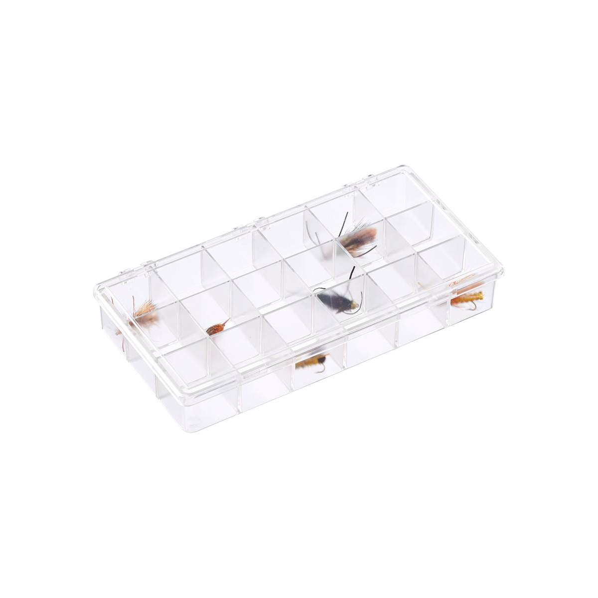 18-Compartment Small Clear Box