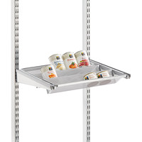 "Platinum elfa 18"" Gliding Tiered Shelf"