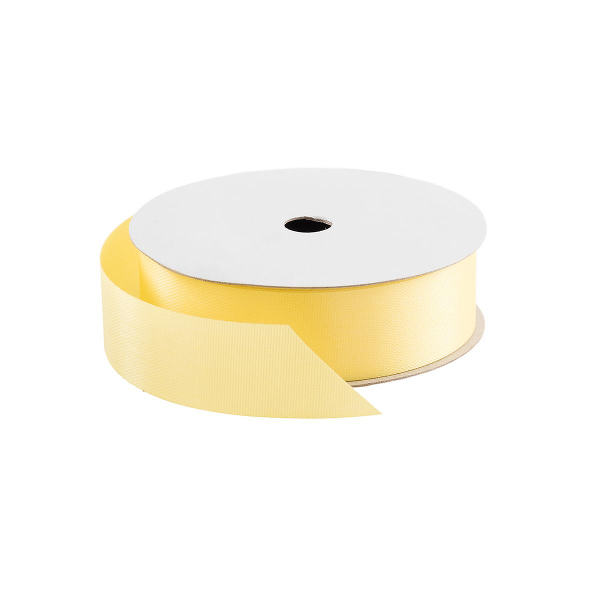 Yellow Satin Ribbon