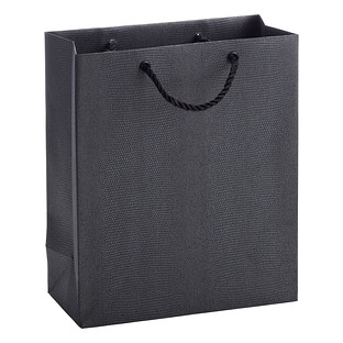 Medium Black Croc Craze Gift Bag