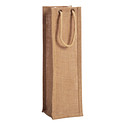 Natural Jute Bottle Tote