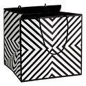 Large Chevron Square Gift Tote