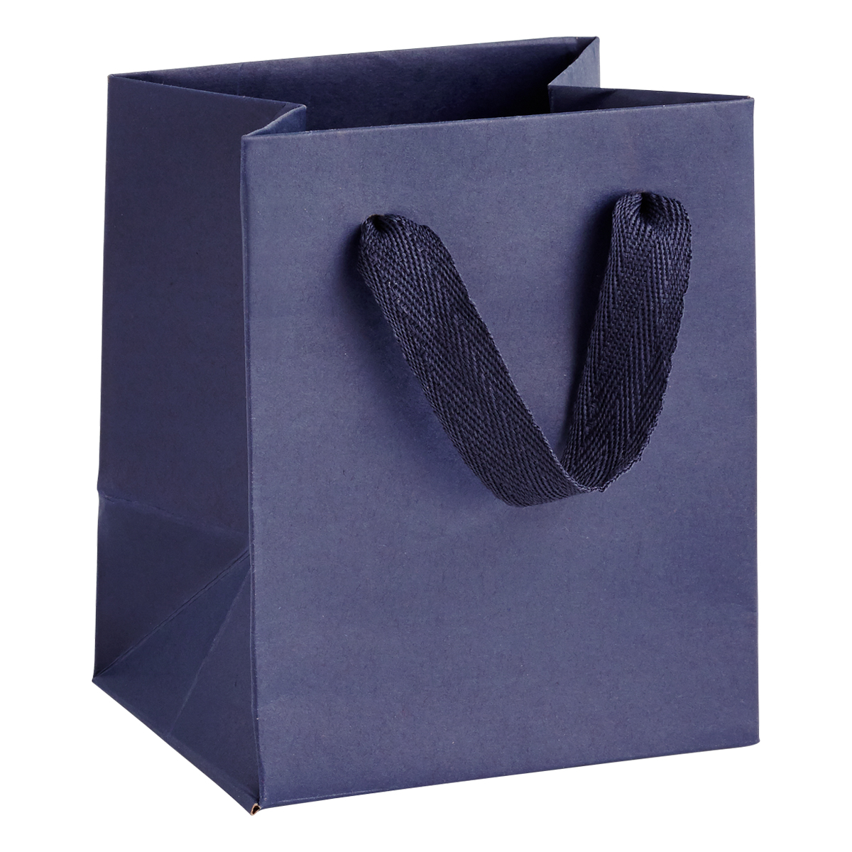 Mini Navy Blue Manhattan Recycled Gift Bag