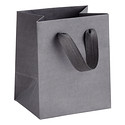 Mini Grey Manhattan Recycled Gift Tote