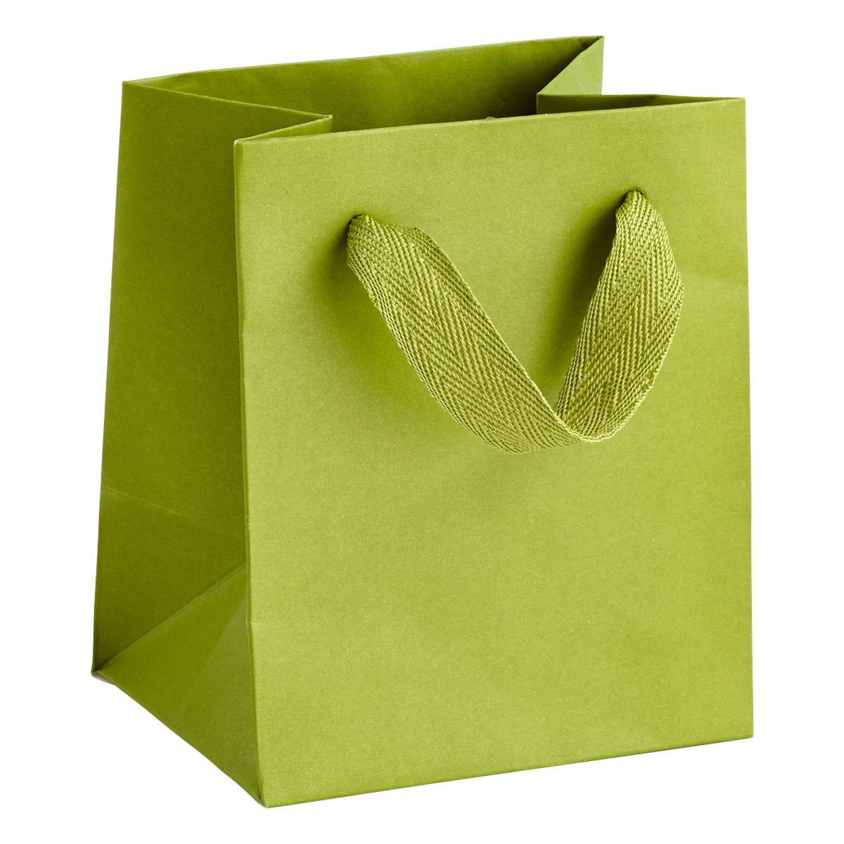 Mini Green Manhattan Recycled Gift Bag