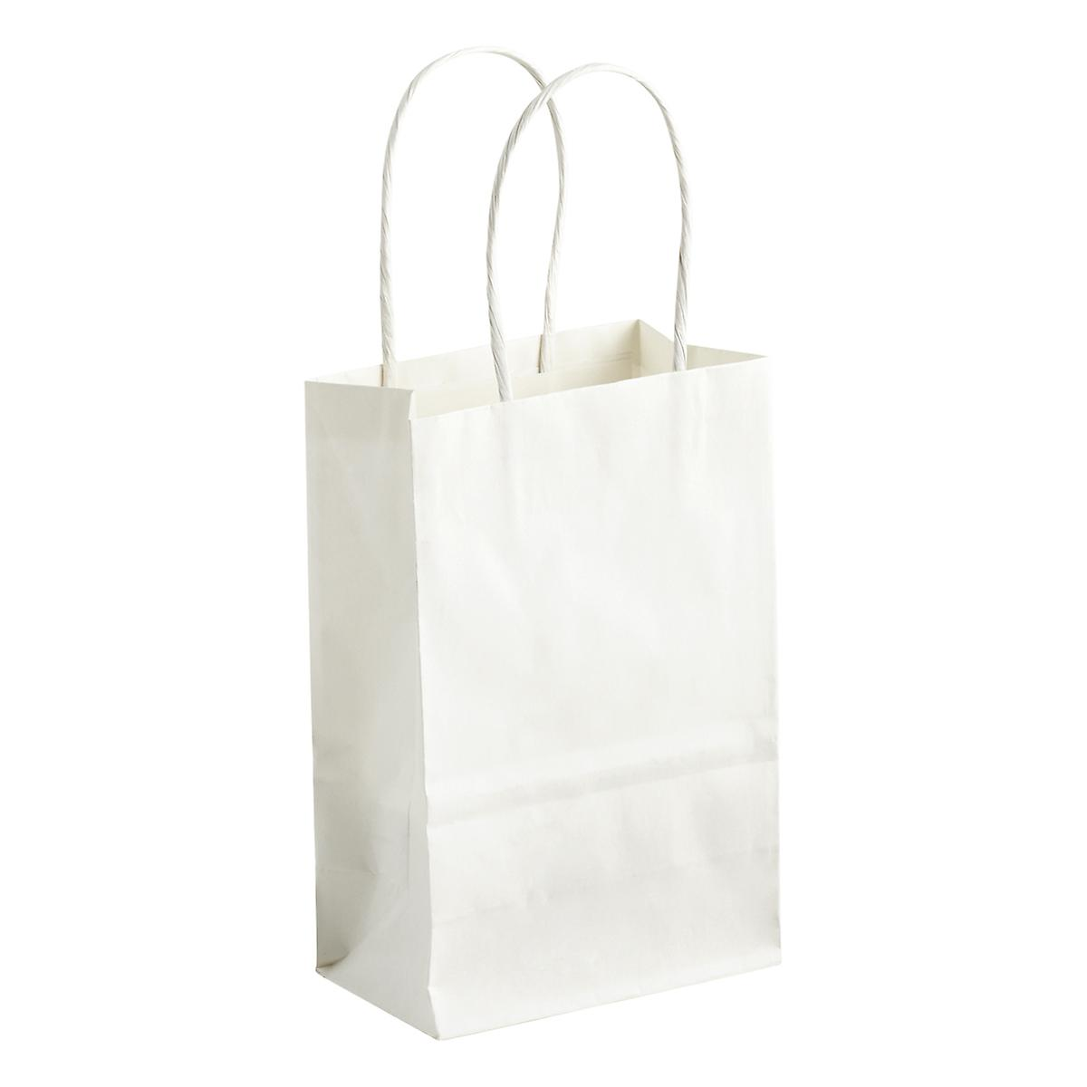 Small White Gift Bag The Container Store