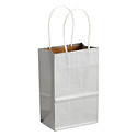 Small Silver Gift Tote