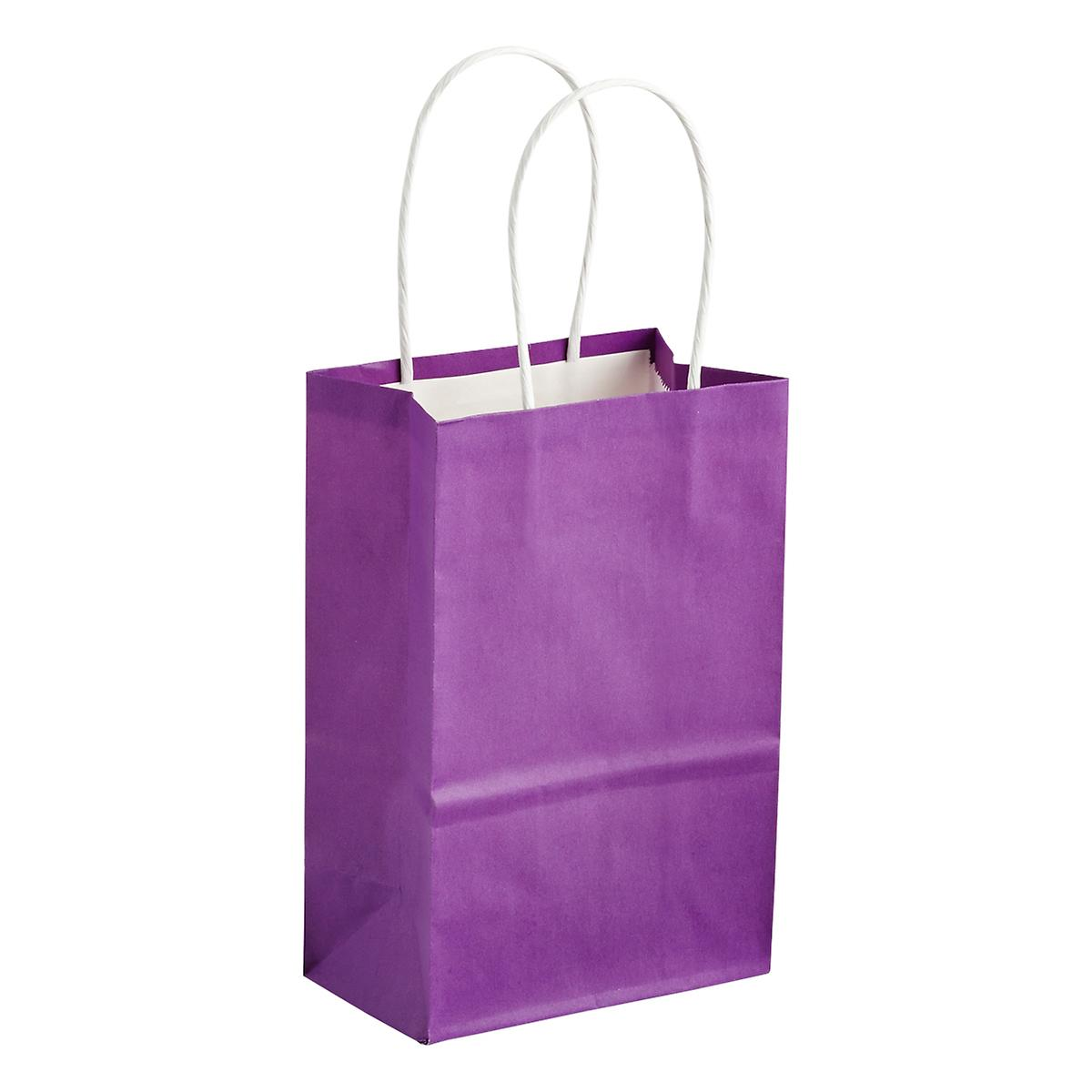 Shipping Container Bag Shop: Small Purple Gift Bag