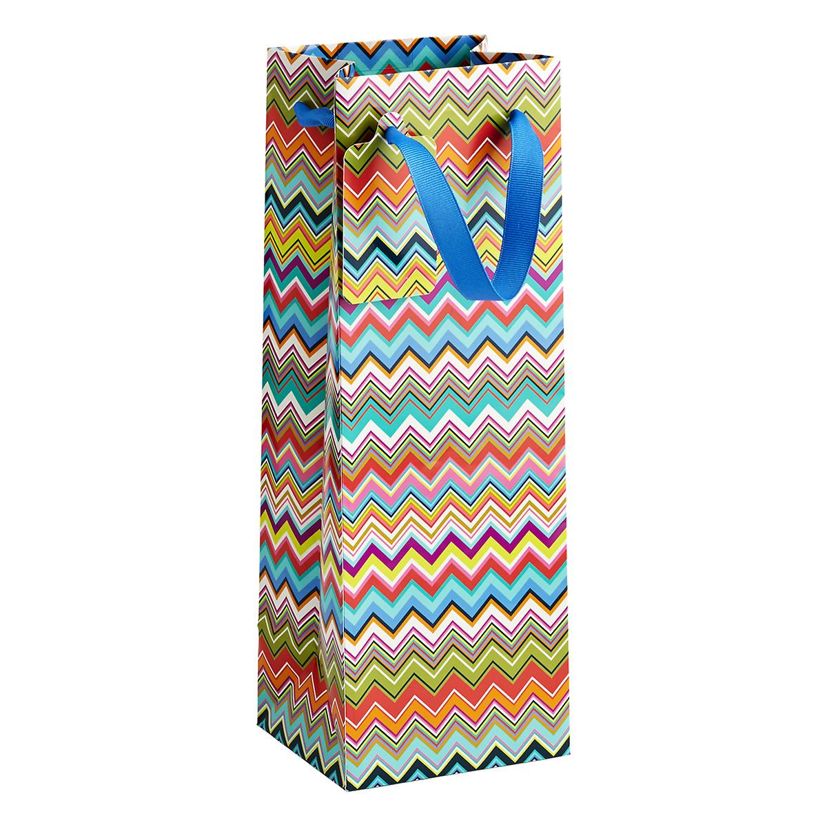 Ziggy Chevron Bottle Tote