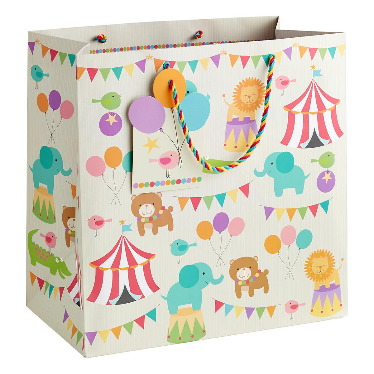 Large Circus Pals Gift Tote