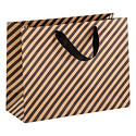 Large Krafty Stripes Gift Tote