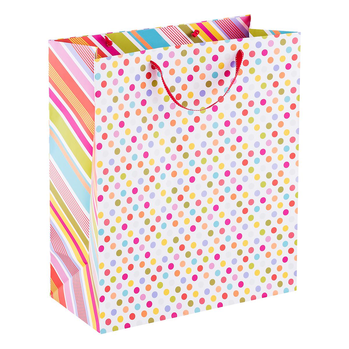 Jumbo Pattern Pop Dot Tote