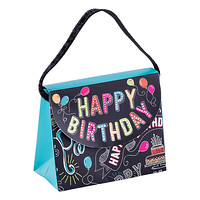 Happy Birthday Chalkboard Candy Purse