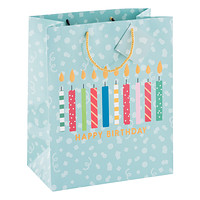 Large Happy Birthday Candles Tote