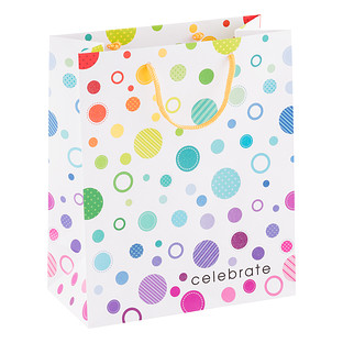 Large Dotty Celebration Gift Bag