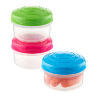 Mini Bites-to-Go Containers