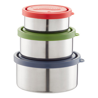 Stainless Steel Leakproof Nesting Trio Set