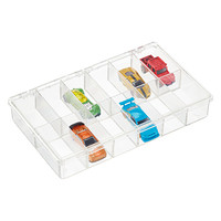 12-Compartment Clear Box