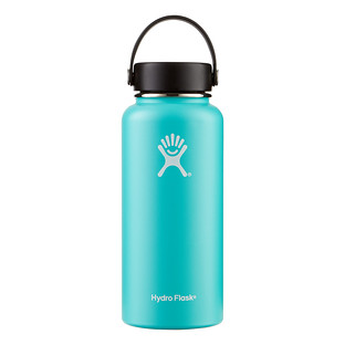 Mint 32 oz. Wide Mouth Hydro Flask