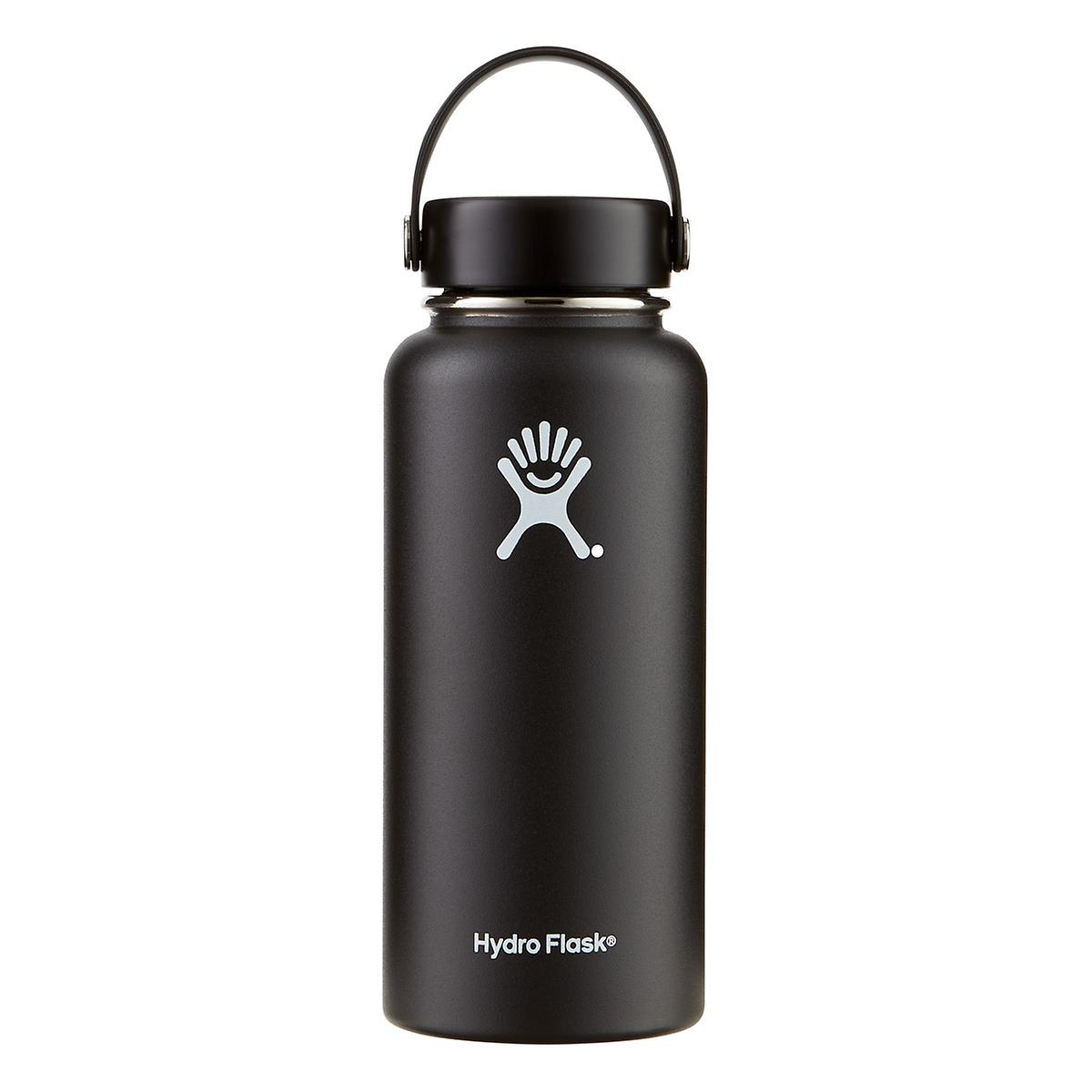 Black 32 oz. Wide Mouth Hydro Flask