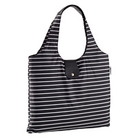 Black Stripe Italia Shopper