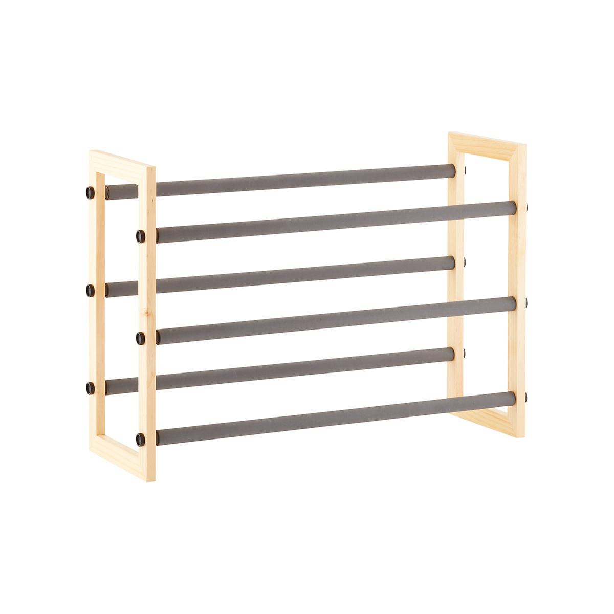 Container Store Expandable Shoe Rack