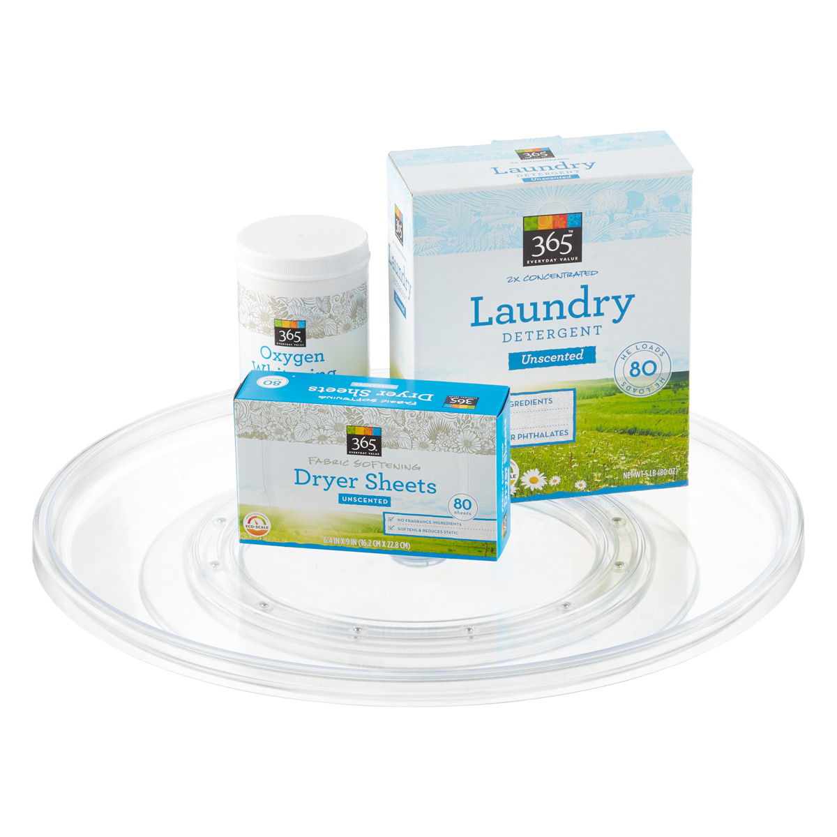 Extra Large Clear Lazy Susan