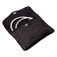Satin Zippered Jewelry Pouch