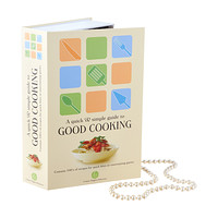 Hardback Cookbook Book Safe