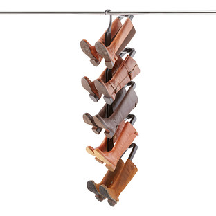 Rotating Shoe Storage. Hanging Boot Butler  sc 1 st  The Container Store & Rotating Shoe Storage | The Container Store