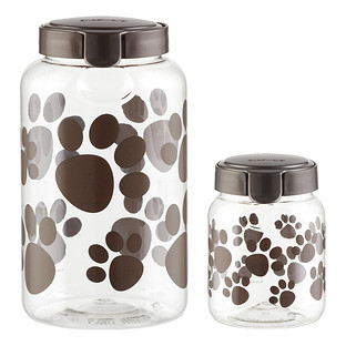 Snapware Paw Print Treat Containers