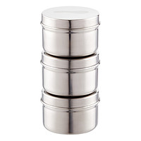 2.5 oz. Stainless Steel Container Set