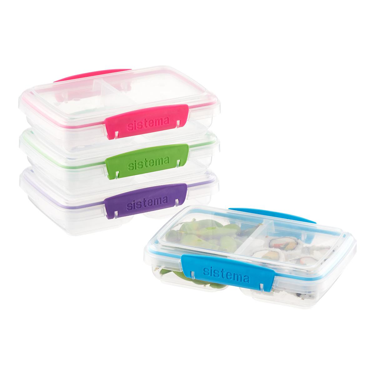Sistema Small Split-to-Go Bento Container