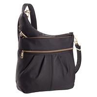 Travelon Black Anti-Theft Crossbody Bag