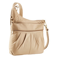 Khaki Anti-Theft Crossbody Bag
