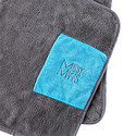 Messy Mutts Grey Deluxe Microfiber Towel