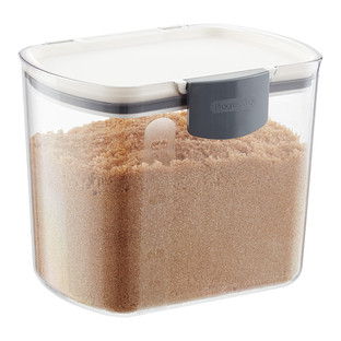 Clear Hinged Lid Plastic Container The Container Store