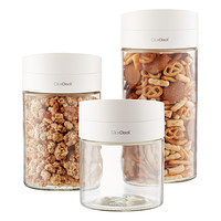 Twist & Pour Glass Food Storage Containers
